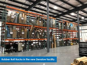 picture of rubber roll racks