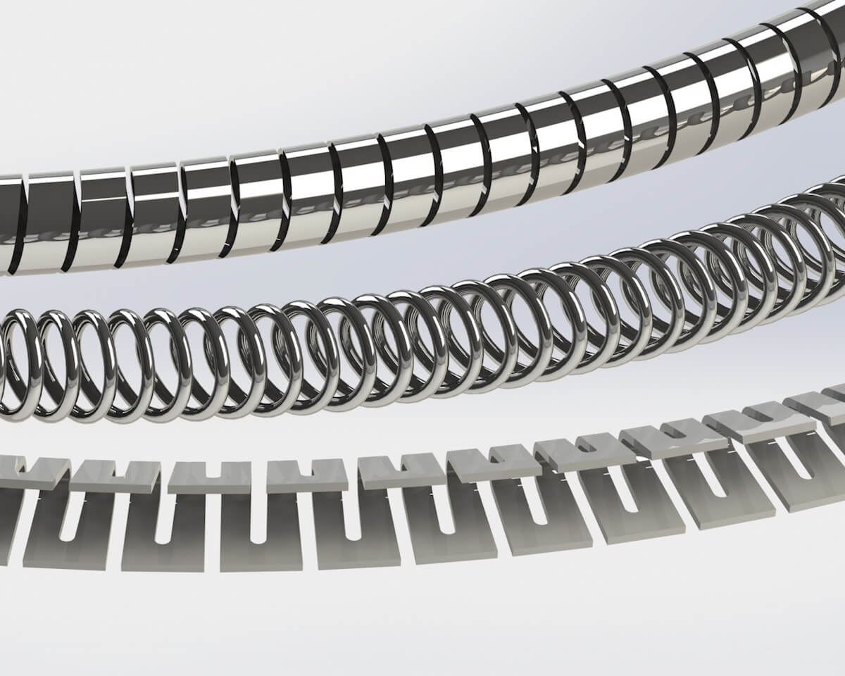 image of metal spring types