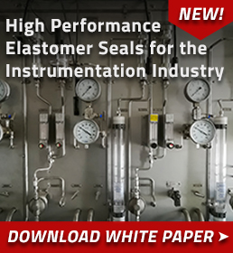 HP Elastomer Seals for Instrumentation